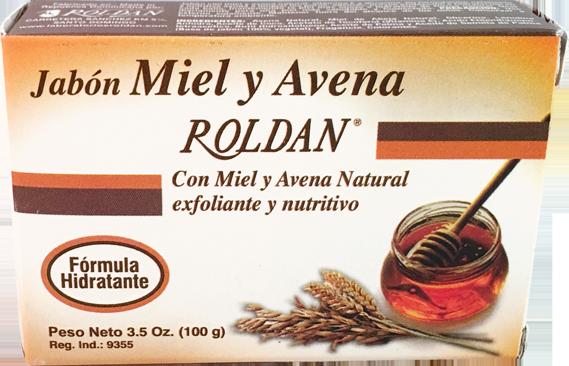 Jabón Miel y Avena